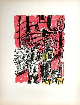From the portfolio La Ville by Fernand Leger
