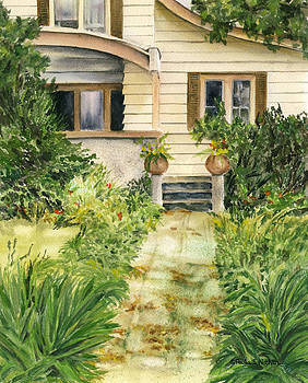 Front Walk by Paula Nathan