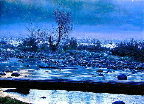 Frozen Blue Light by Walt Jackson