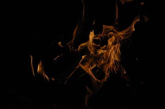 Frozen Flame Figure by Alivia Houdek