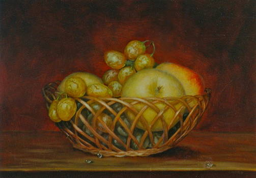 Fruit Basket by Erika Lukacs