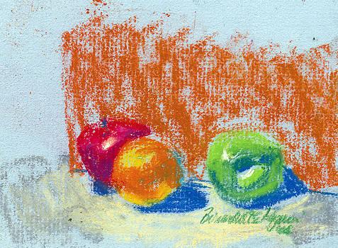Fruit by Bernadette Kazmarski