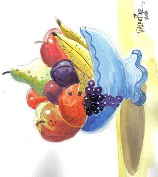 Fruit bowl by Mike Valentine