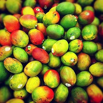 #fruit #color #beautiful #mango #summer by Brienne Jae Sagona