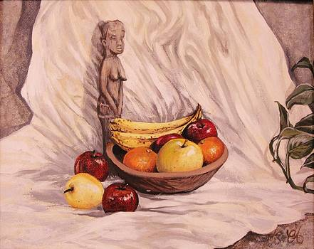Fruit Godess by Carrie Auwaerter