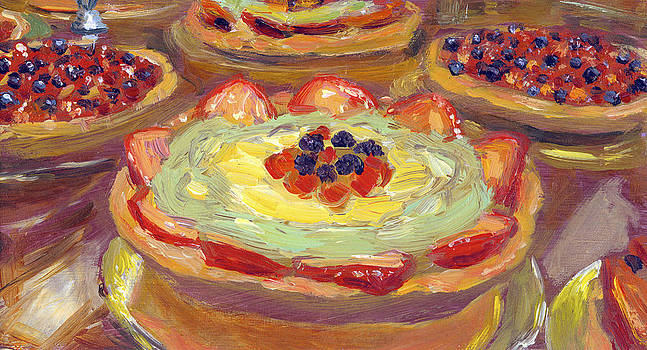 Fruit Tarts by Scott Bennett
