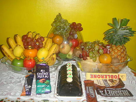 Fruits and Chocolates by Cherryl Fernandez