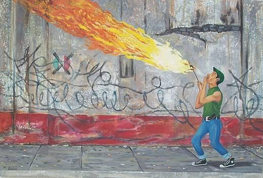 Fuego by Enrique Alcaraz