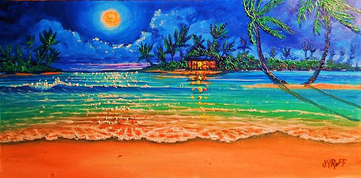 Full Moon Lagoon by Joseph   Ruff