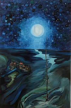 Full  Moon by Yaron Ari