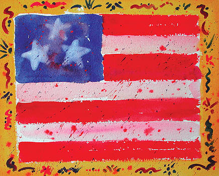 Funky Flag by Chuck Creasy