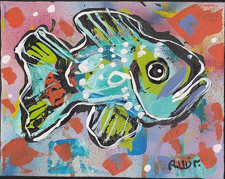 Funky Folk Fish 2012 by Robert Wolverton Jr
