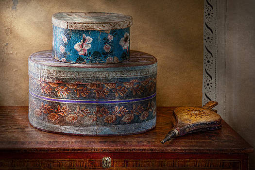 Mike Savad - Furniture - Hat boxes with billow