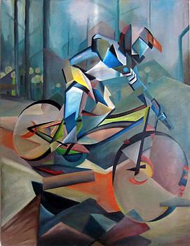Futurestic Downhill by Seth Johnson