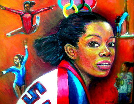 Gabby Douglas by Jan Gilmore