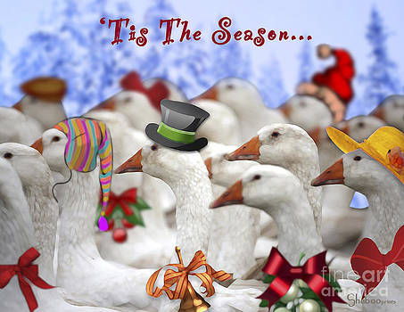 Gaggle o' Greetings by Shaboo Prints