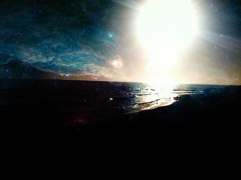Galaxy Sunset by Raven Janush