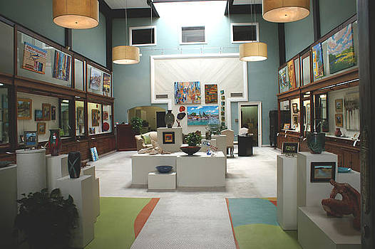 Gallery View Inside Front by New Bern ArtWorks