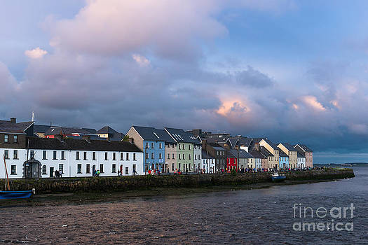 Galway town by Andrew  Michael