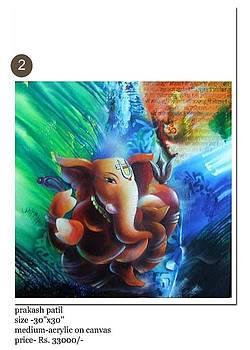 Ganesh1 by Prakash Patil
