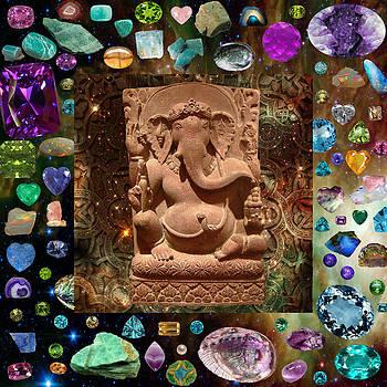 Ganesha in Space by Susan Ragsdale
