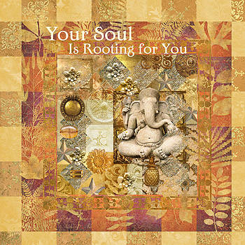 Ganesha Soul Rooting by Susan Ragsdale