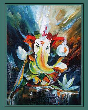 Ganeshaji by Prakash Patil