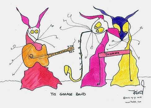 Garage Band by Tis Art