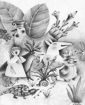 Garden 1 by Natalja Lebsak