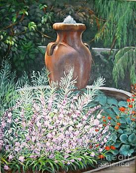 Garden Accent by Lorna Saiki