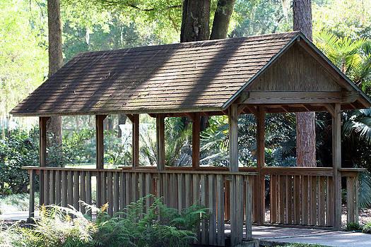 Garden Bridge by April Wietrecki Green