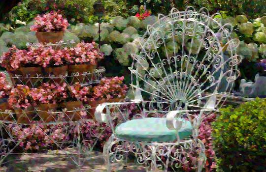 Garden Chair by Cheryl Cencich