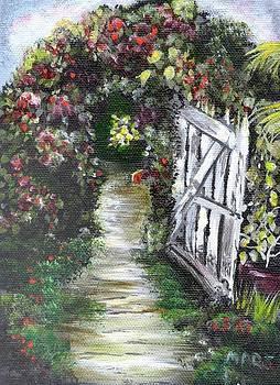 Garden Gate Grove Farm Kauai Hi. by Peggy Mars