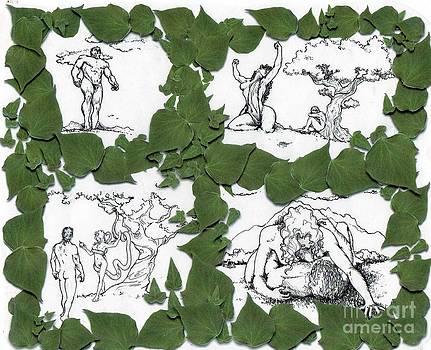 Garden of Eden 1-4 by Mark Northcott