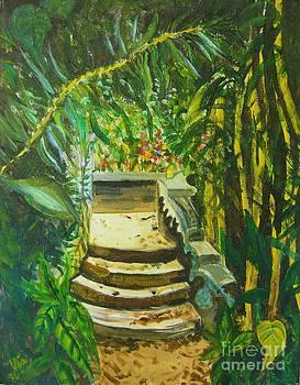 Judy Via-Wolff - Garden Passage