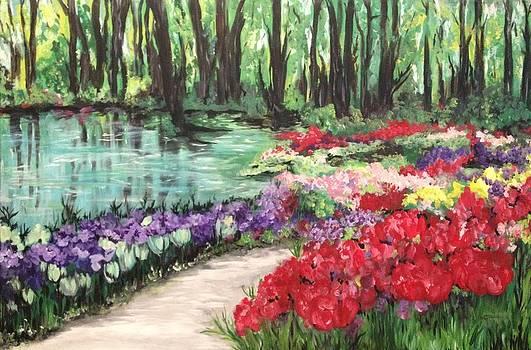 Garden Path by Carmen Weber