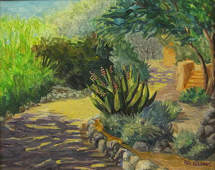 Garden Path by Rita Goldner