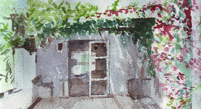 Garden portrait study - Portugal by Rebecca Lilley