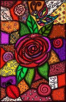 Garden Quilt by Jenny Sorge