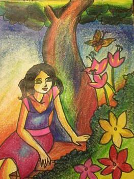 Garden Relax by Amisha Tripathy