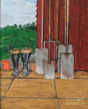 Garden Tools by Christopher Keeler Doolin