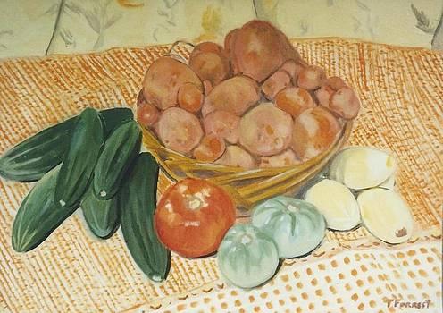 Garden Vegetables by Terry Forrest