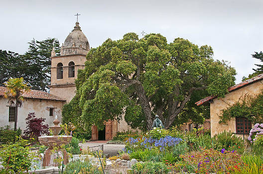 Gardens of Carmel Mission by Kent Sorensen