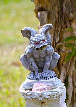 Gargoyle. Sitting by Michael Clarke JP