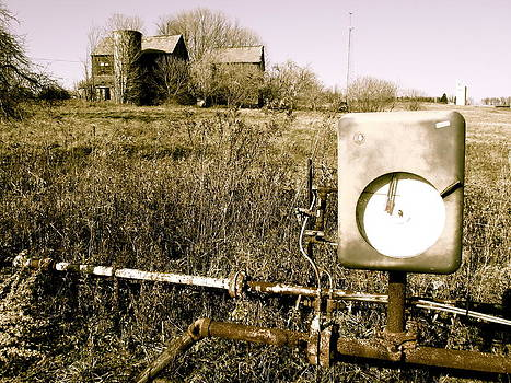 Gas Meter by Stephanie Olsavsky