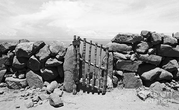 Darcy Michaelchuk - Gate Overlooking Lake Titicaca