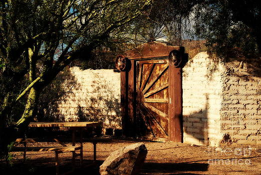 Susanne Van Hulst - Gate to Cowboy Heaven in Old Tuscon AZ