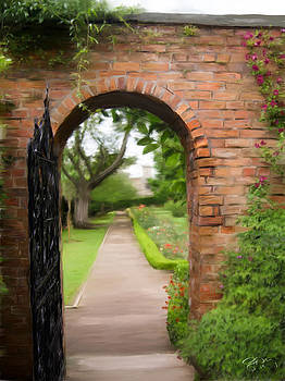 Gate to Garden by Scott Melby