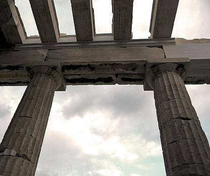 Gateway to Acropolis by Stellina Giannitsi
