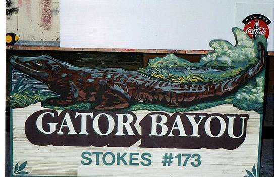 Gator Bayou by Charles Sims